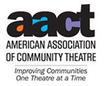 American Association of Community Theatre logo