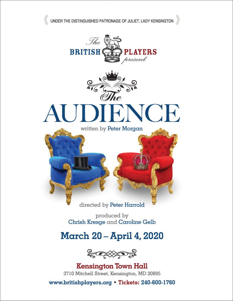 The Audience Show Poster.